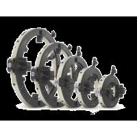 """TAG Osztott keretes vágófejek 6-12"""" (168-323 mm külső átmérőjű csövekhez)"""